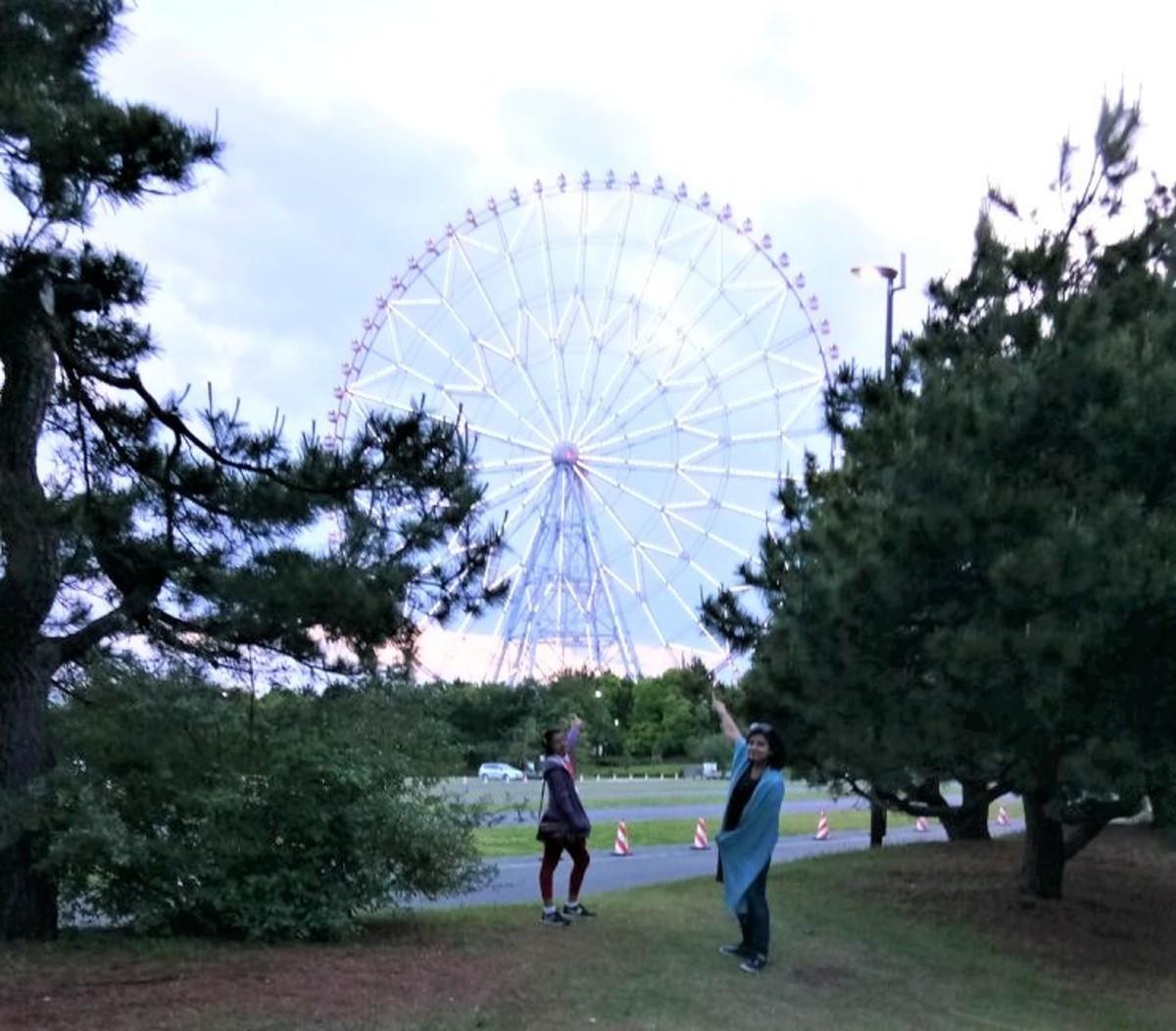 Asia's largest Ferris wheel!