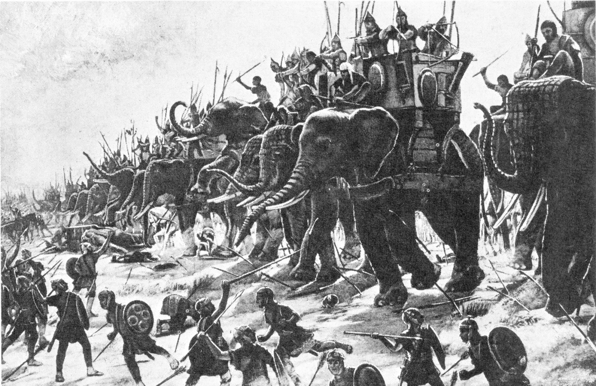 How the Greeks Got Their Elephant Corps for Their Army