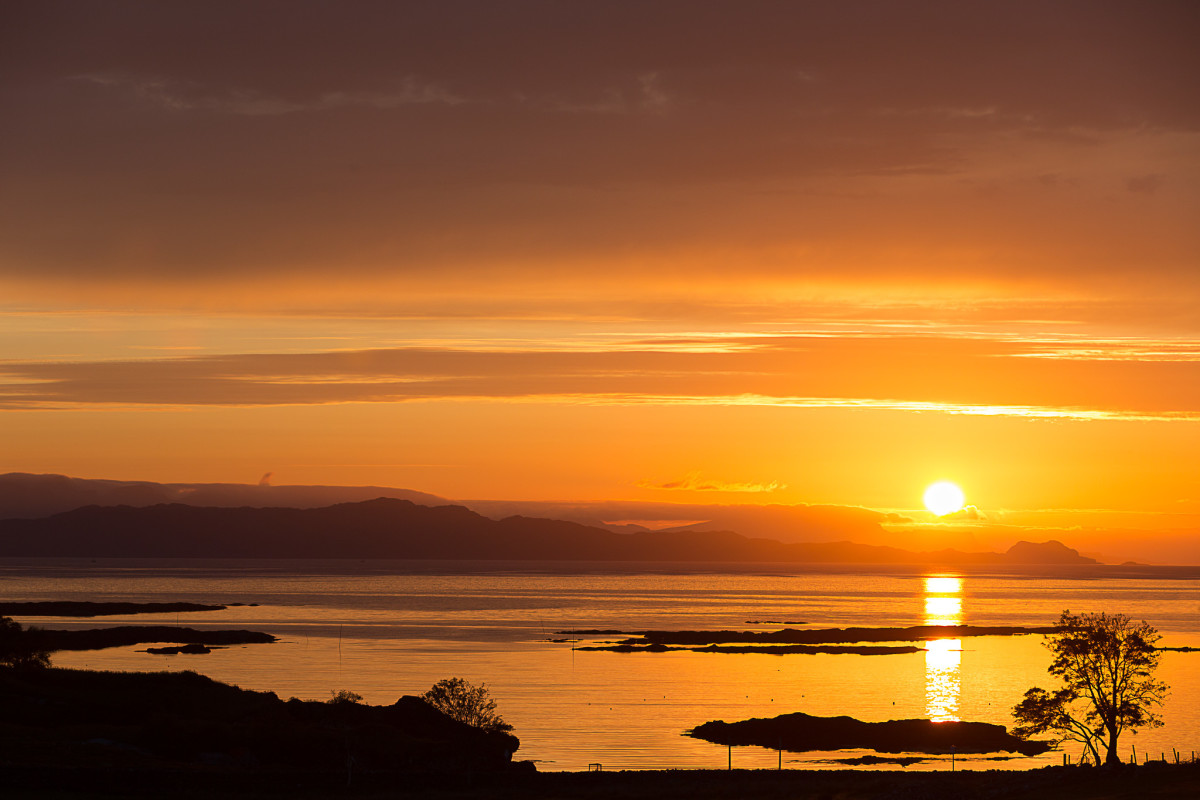 Sunset at Applecross