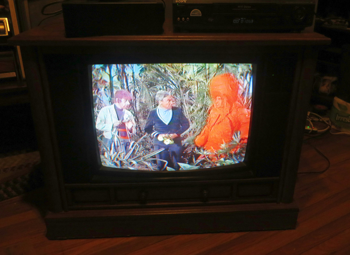 Willoughby, Doctor Smith and Stanley Adams as Tybo the Carrot Man on the Crosley Color Television. The Crosley Color Television Model CC2546-P102 was assembled in Greenville Tennessee.