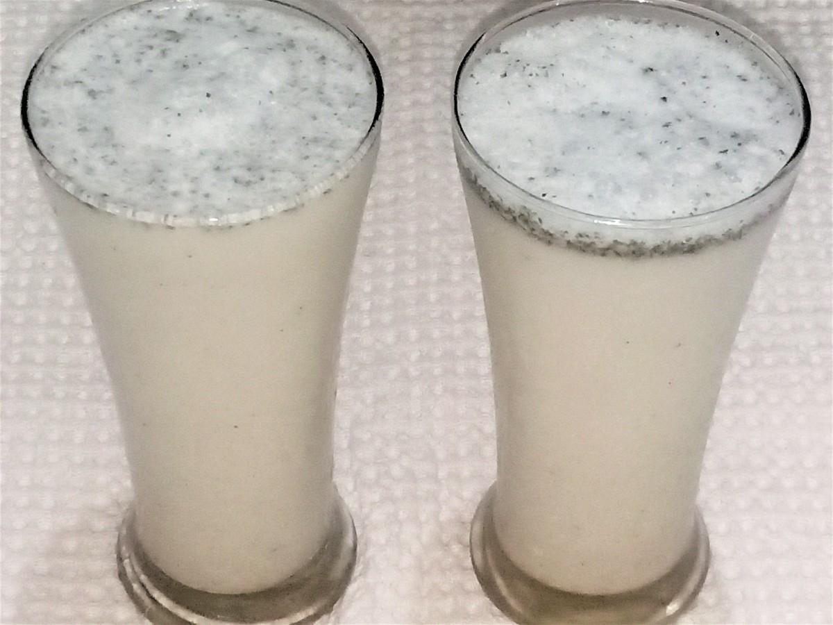 How to Make Namkeen (Salted) Lassi