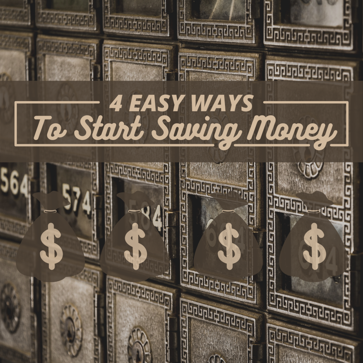 Want to save money? Make small changes over time can help.