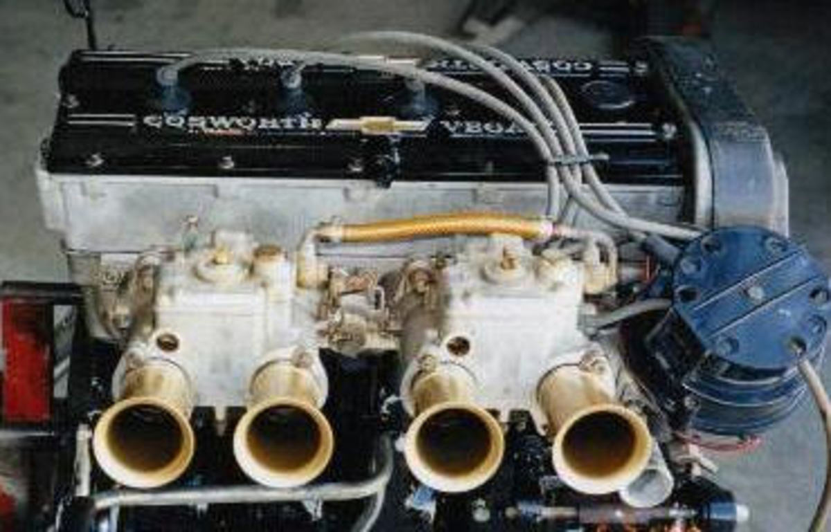 weber 42DCOE side draft carbs