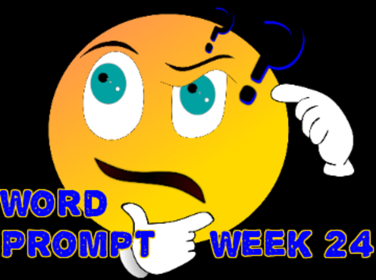 Word Prompts Help Creativity ~ Week 24