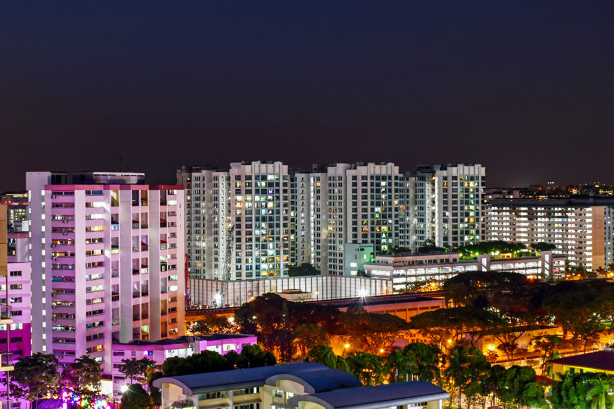 """Within Singapore, public housing blocks are commonly referred to as """"HDB blocks."""""""
