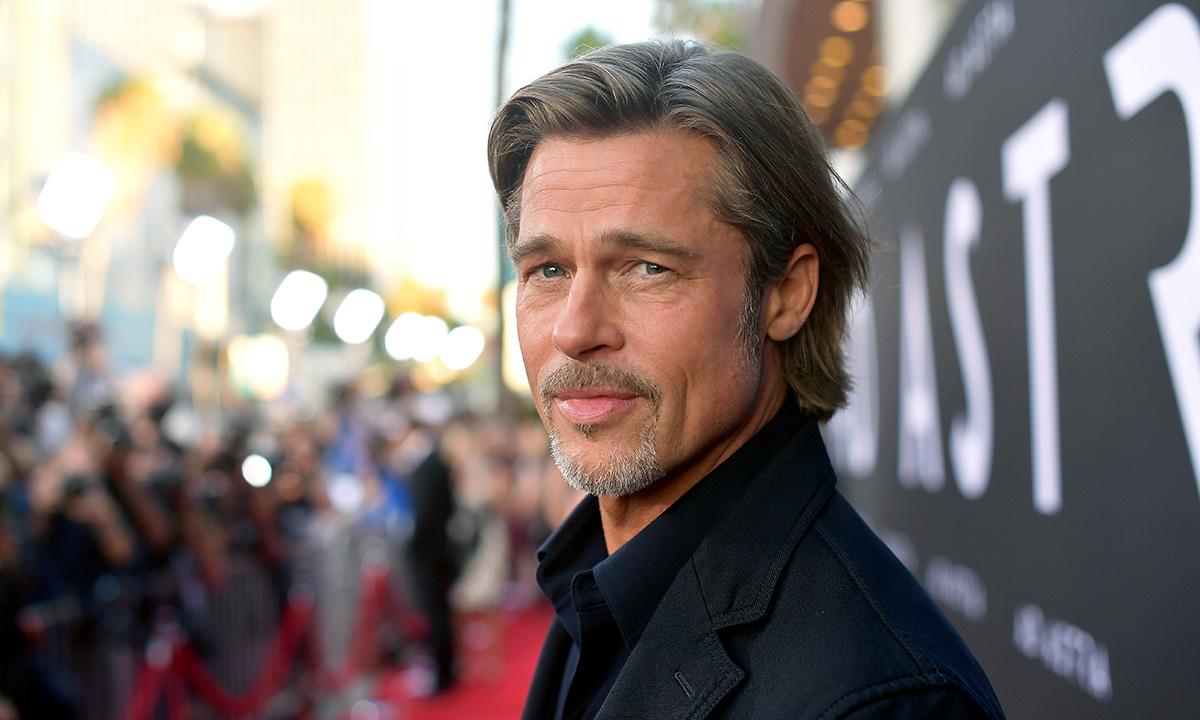Brad Pitt in 2021