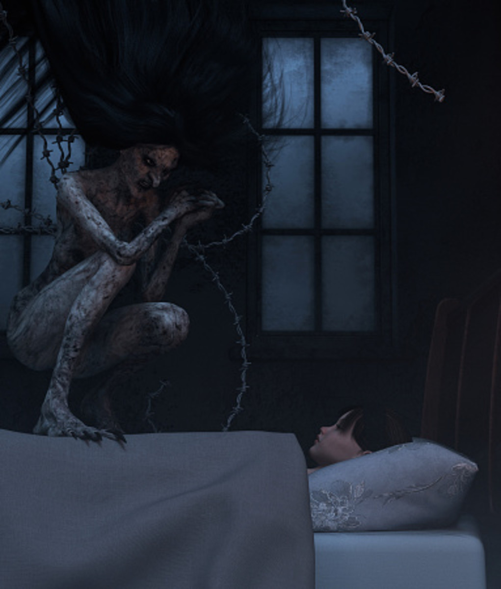 Something in the Darkness: Sleep Paralysis Demon or Waking Nightmare?