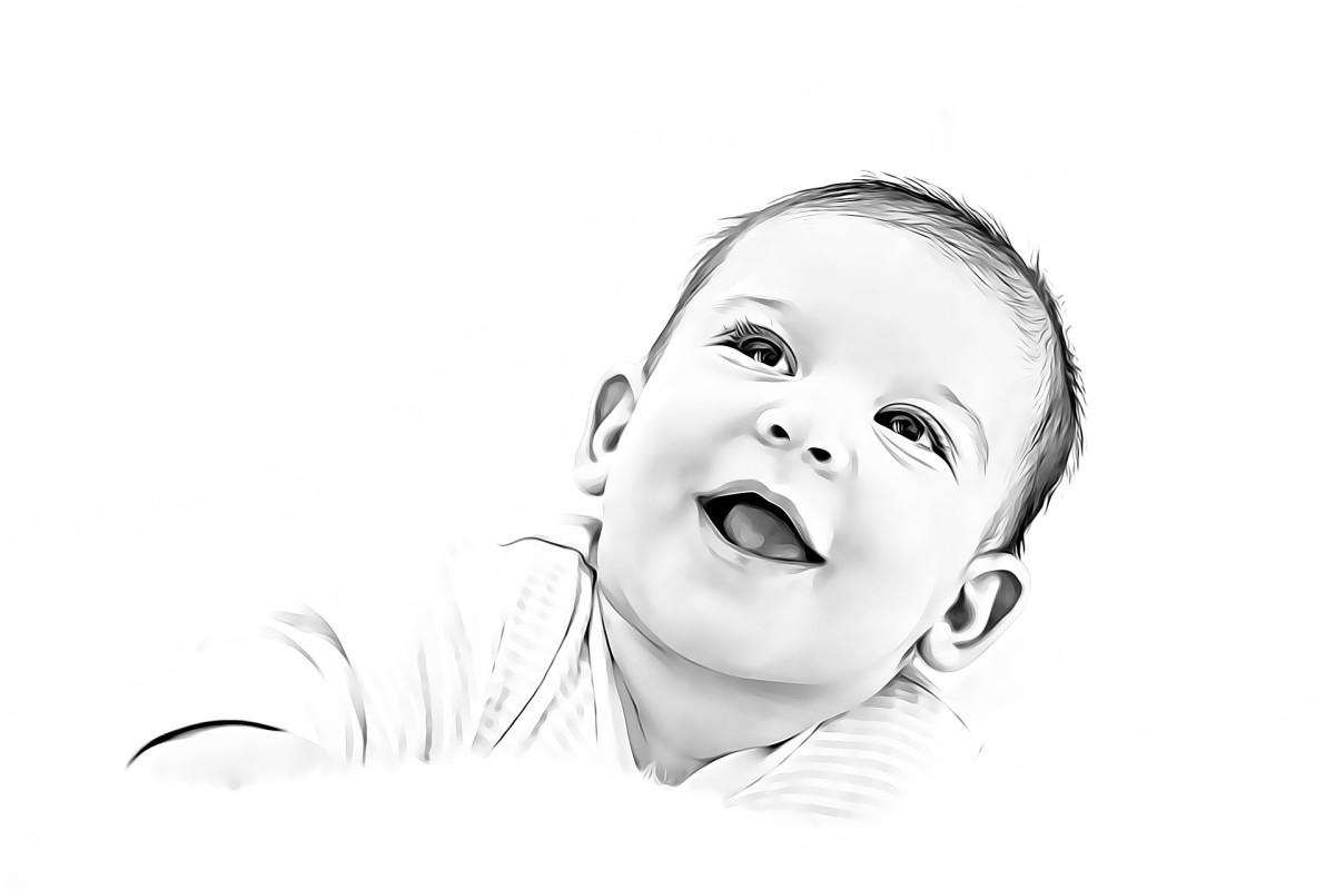 children laugh more