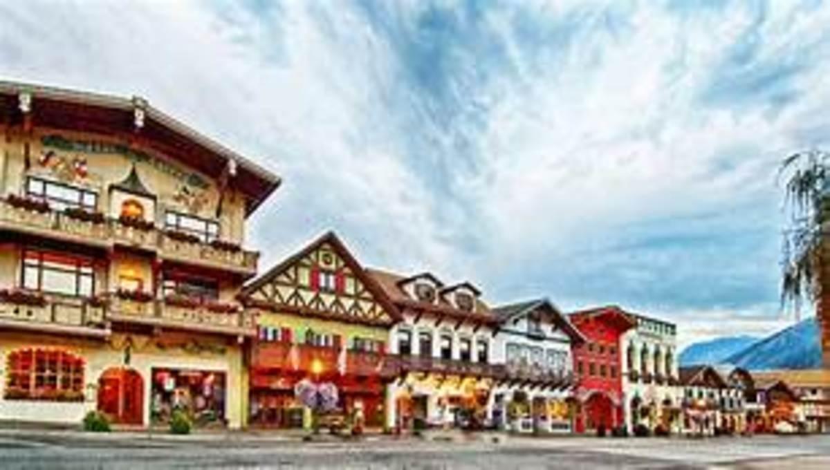 Leavenworth, Washington: When The Going Gets Tough . . .