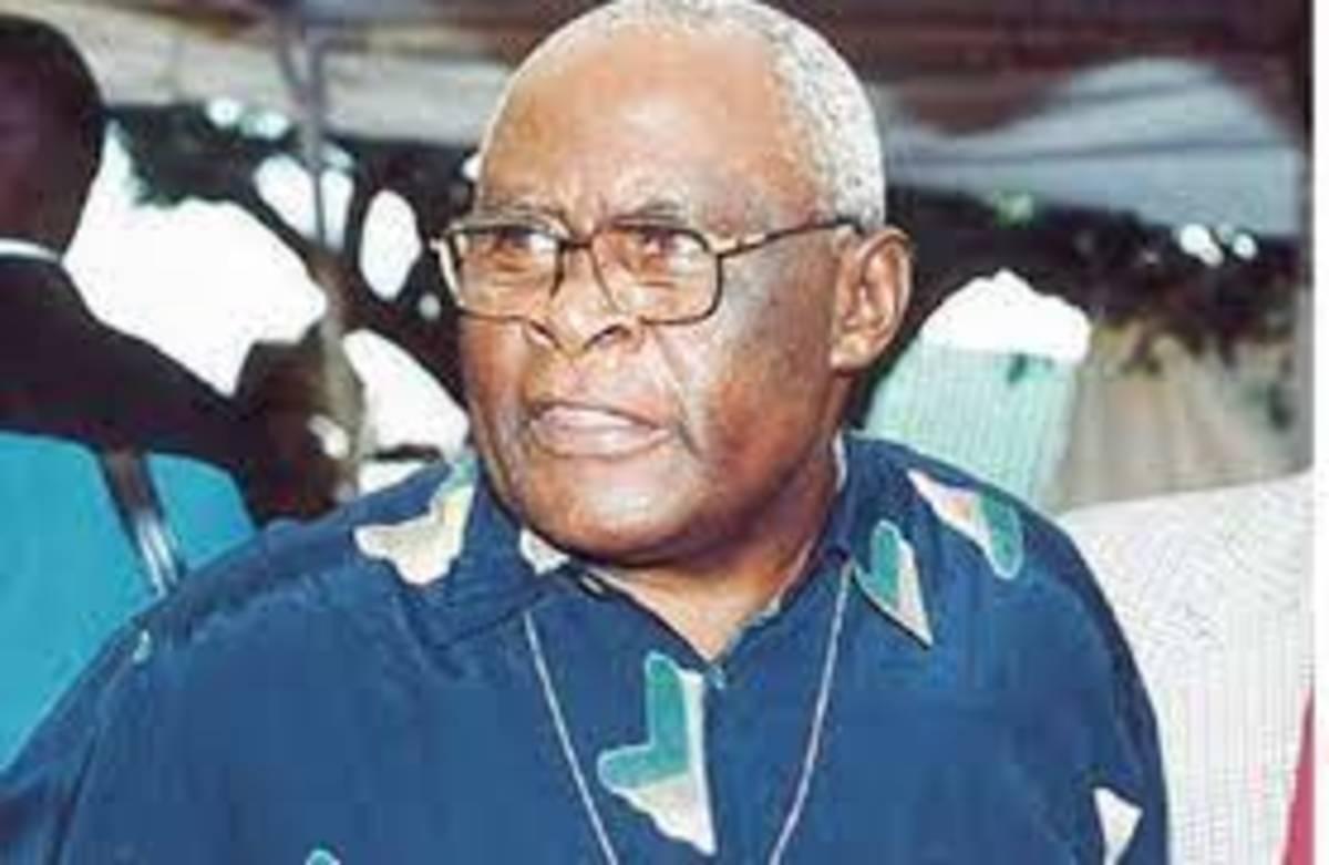 The Late Martin Shikuku.