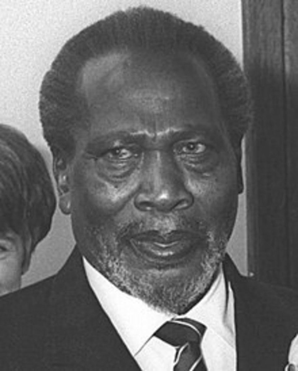 The Right Honourable Mzee Jomo Kenyatta.
