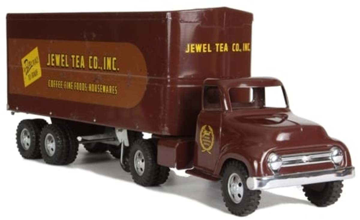 In 1955, Tonka trucks were one of the most popular Christmas gifts.