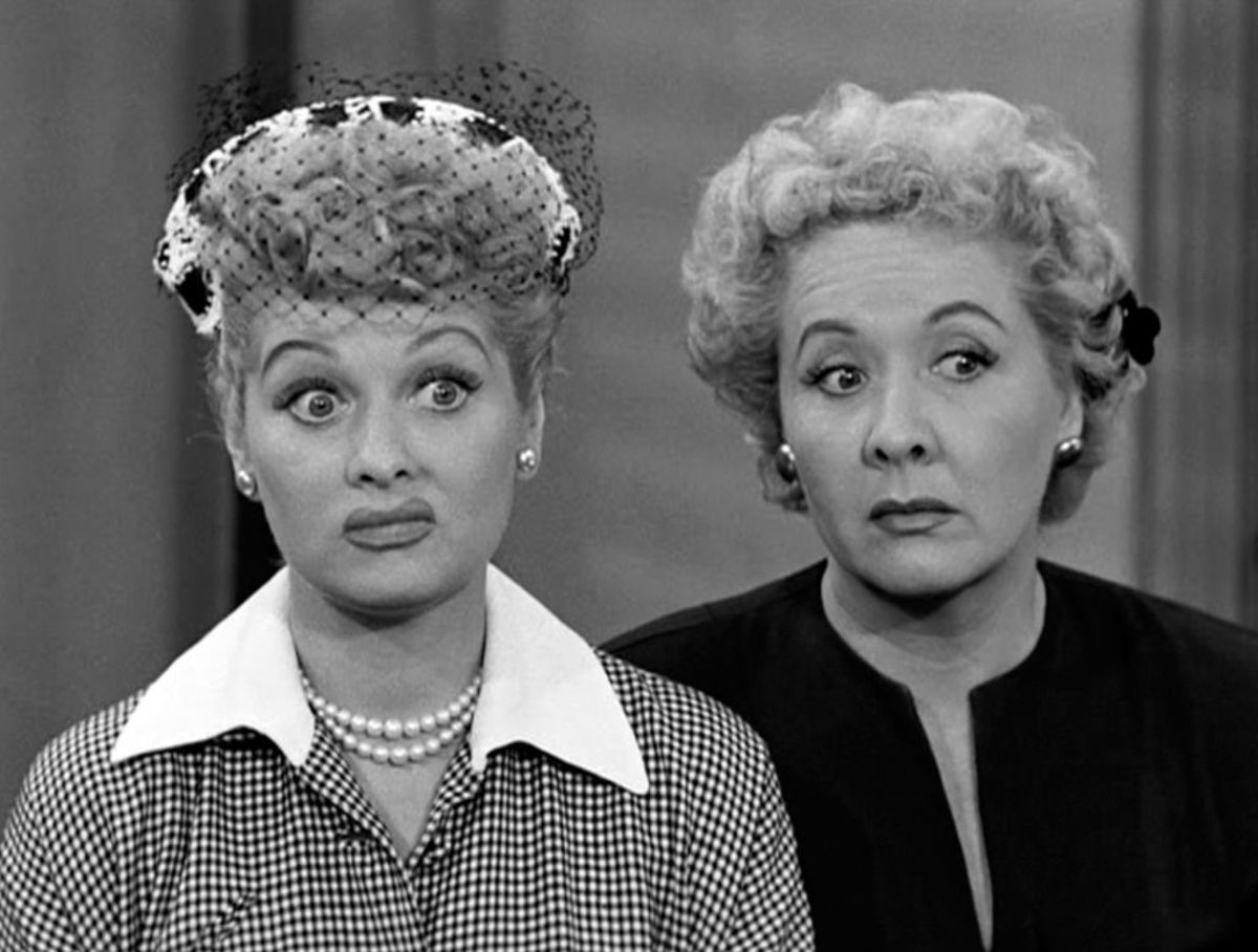 In 1955, I Love Lucy was one of the most popular television shows.