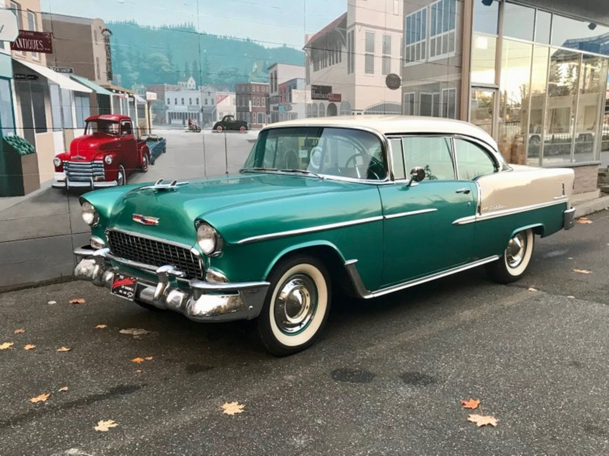 In 1955, GM's Chevrolet was America's best-selling car.