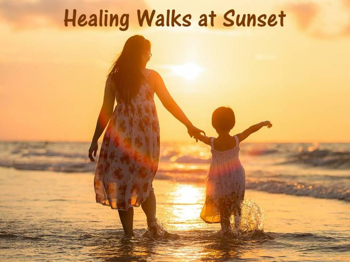 Why Sunsets On The Beach Are Healing