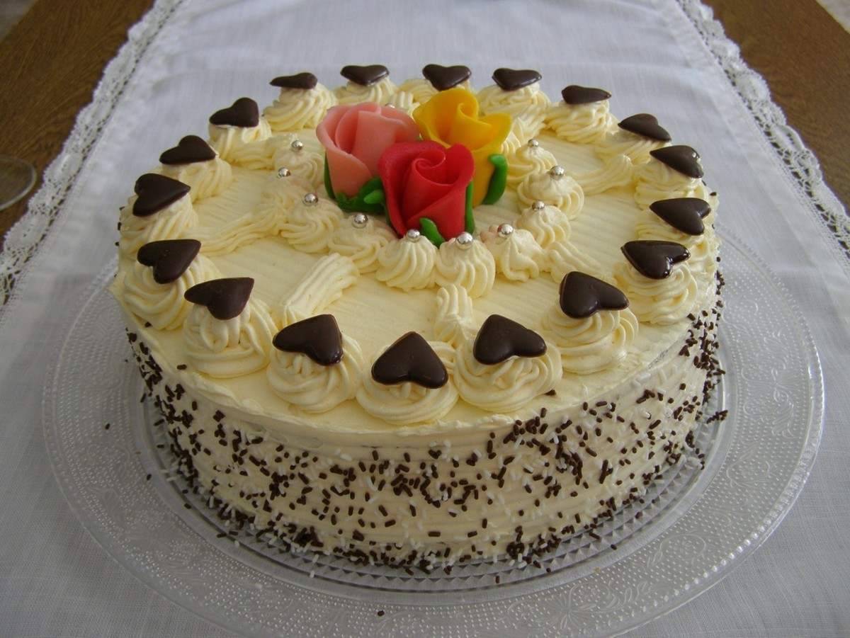 Fluffy Vanilla Cake Recipe