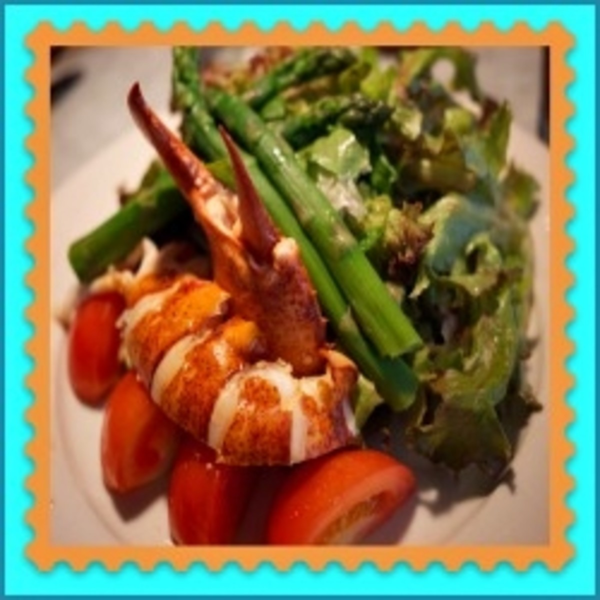 Lobster Asparagus Salad