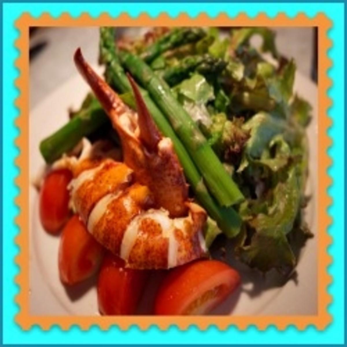 Lobster Asparagus Salad