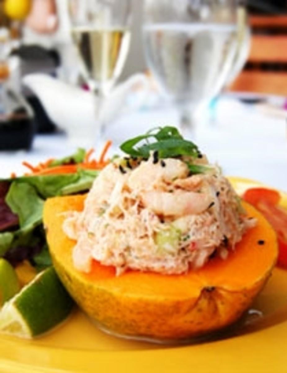 Lobster Crab Shrimp Seafood Salad