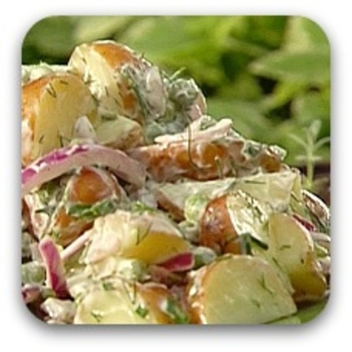 Lobster Lemon Potato Salad