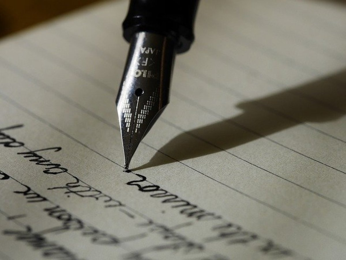 It would be nice if we still wrote letters to each other.
