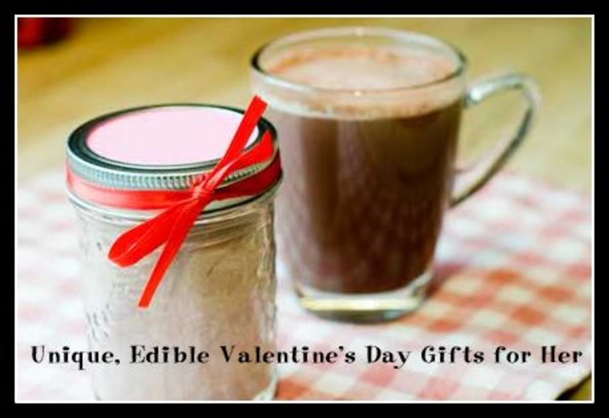 Unique, Edible Valentine's Day Gifts for Her