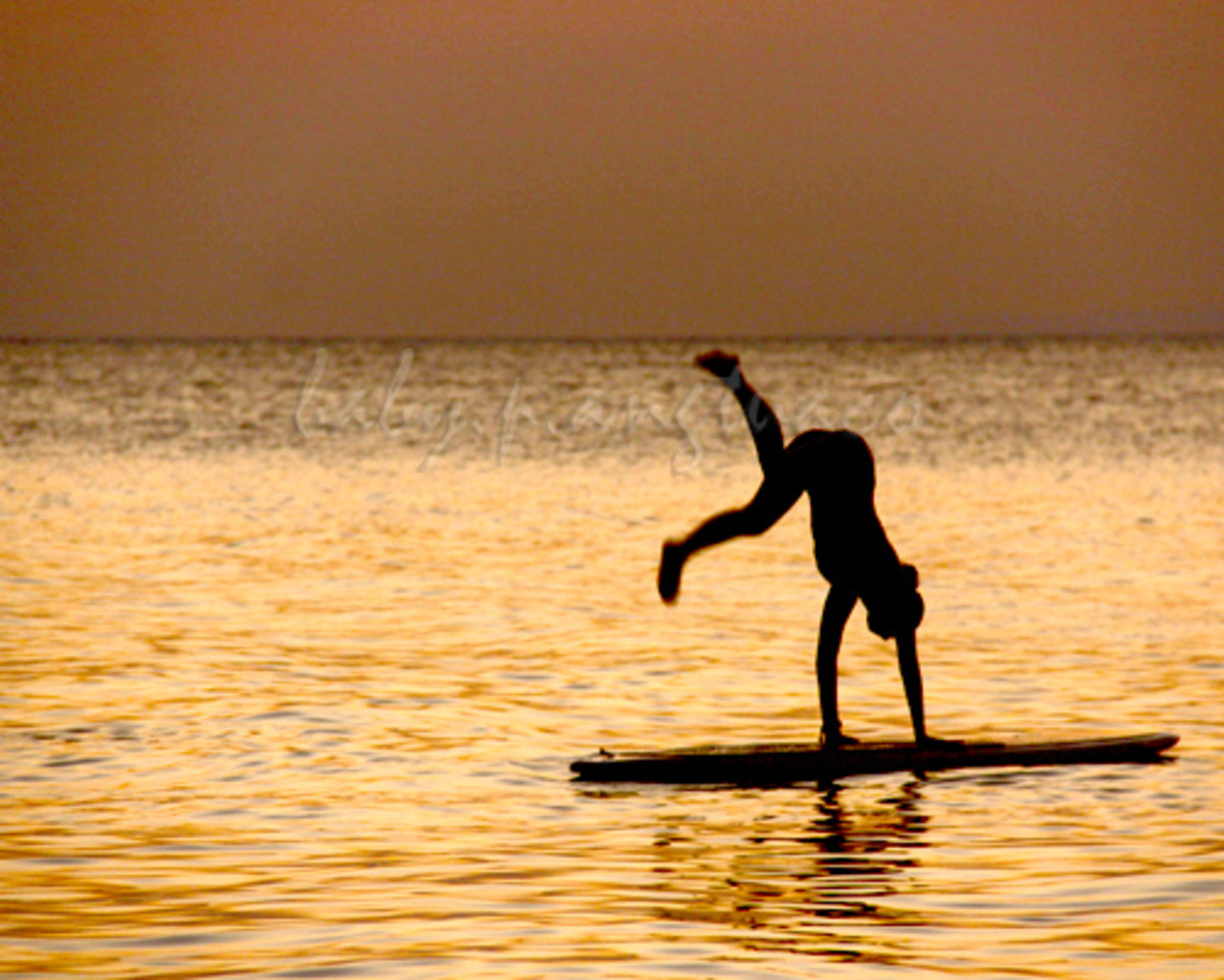 gymnastics at sea