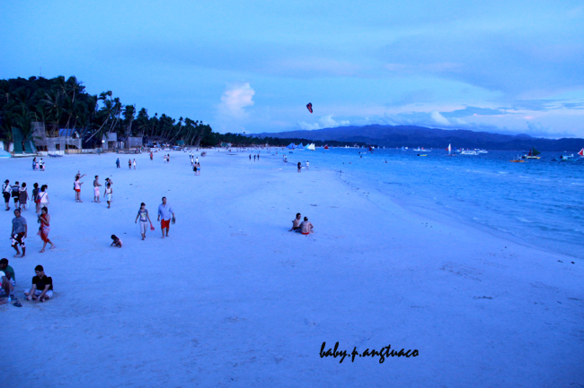 View from the Boracay landmark