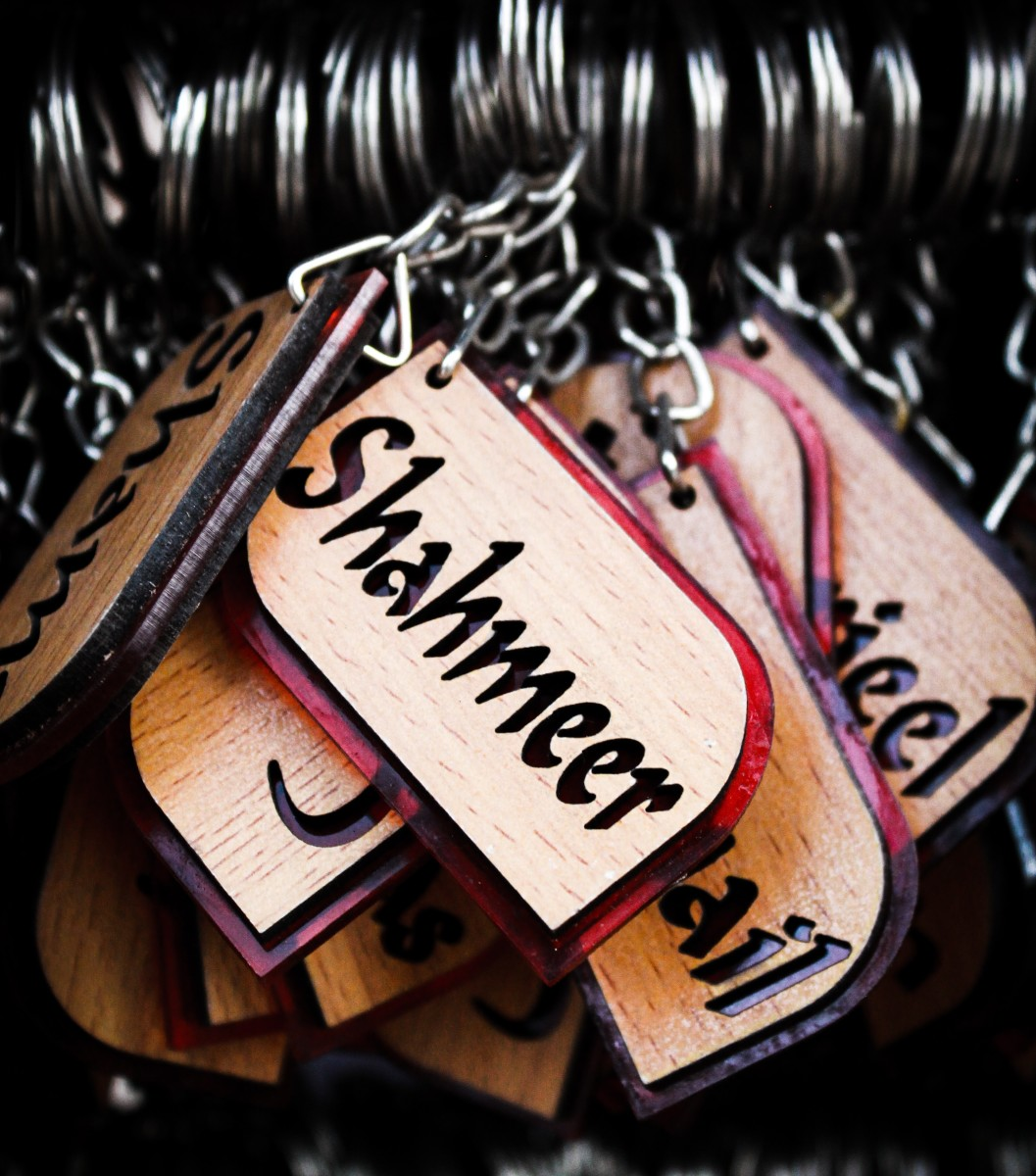 A personalized Keychain is a foolproof Raksha Bandhan gift.