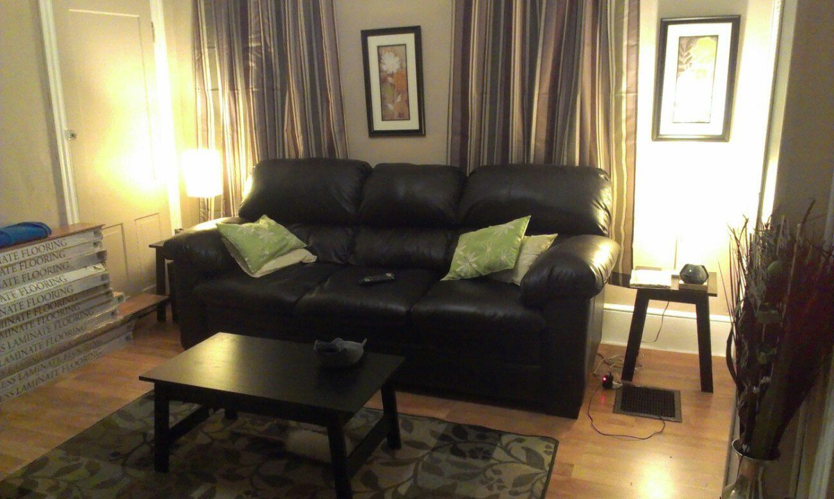 Completed Living Room