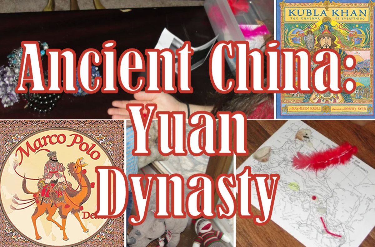 Hands-on, activities based lesson plan on Ancient China and the Yuan Dynasty