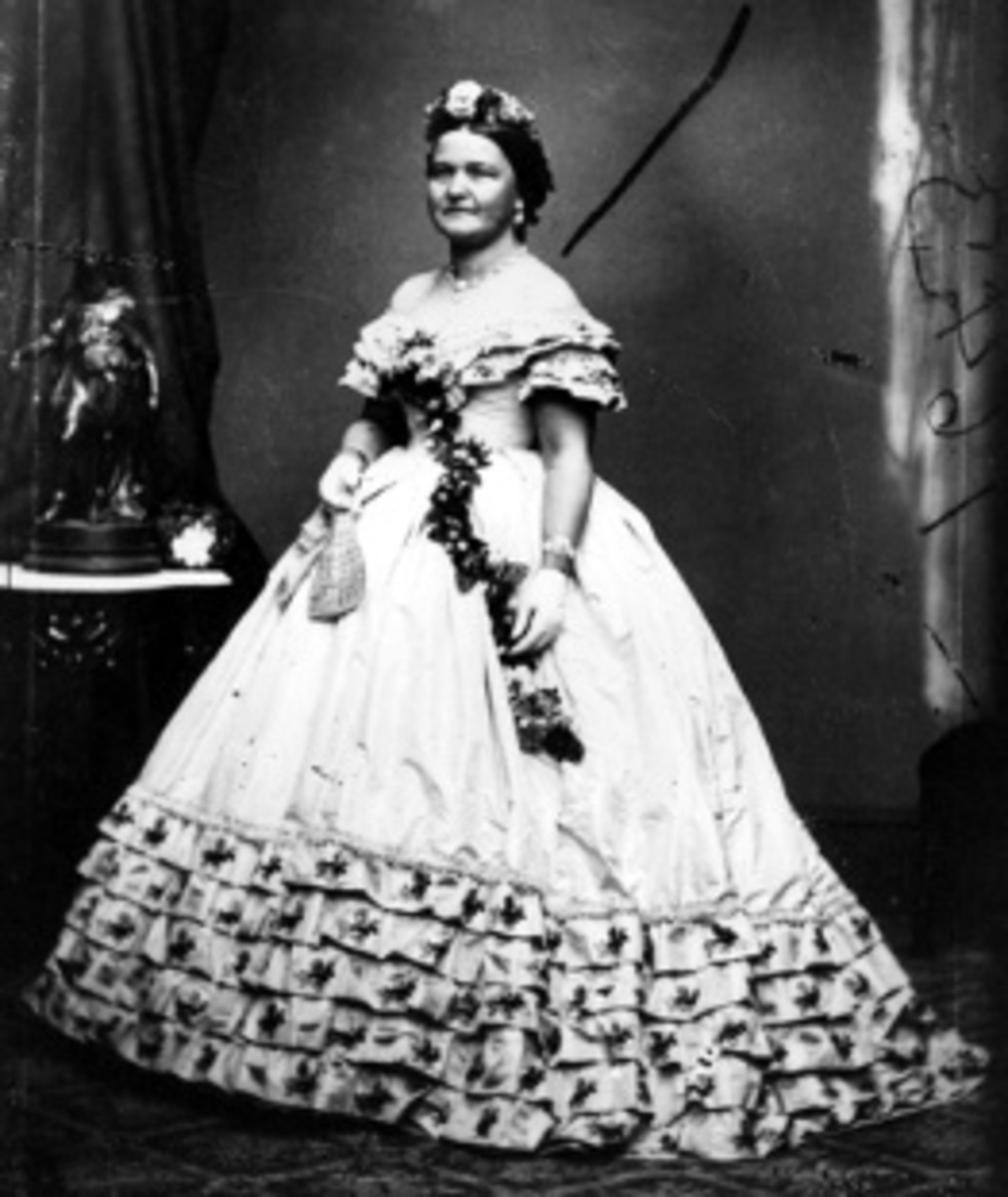 First Lady Mary Todd Lincoln