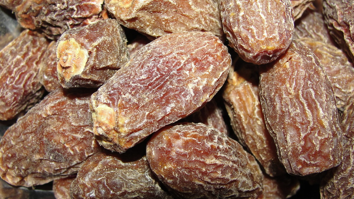 In dry fruits