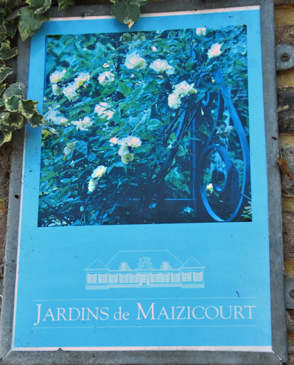 Les Jardins de Maizicourt, A beautiful french garden.