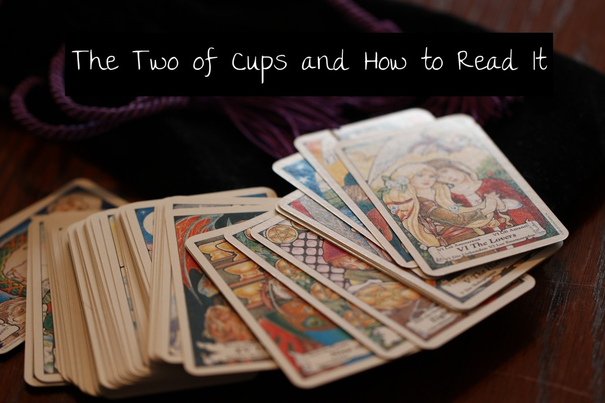 The Two of Cups is about when two different energies meet. Those two energies could create a new kind of synergy or they could oppose each other. It all depends on whether there is flow or blockage.