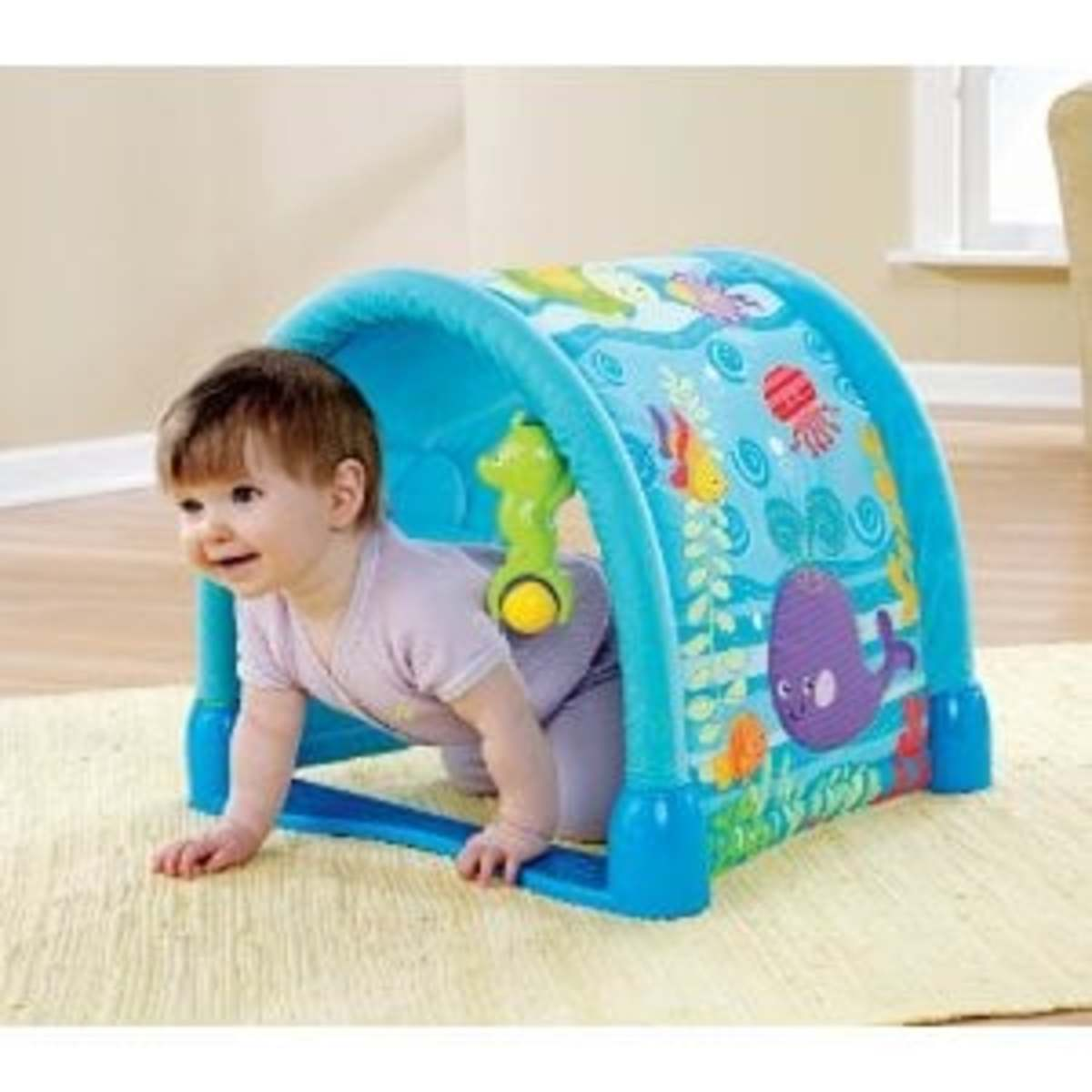 A fun toy for babies who can crawl