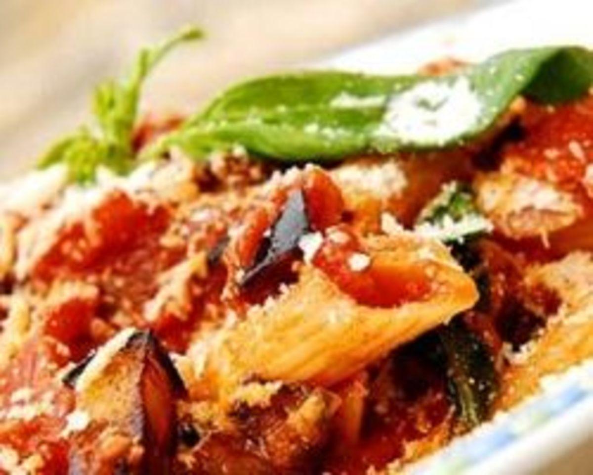 Traditional Sicilian Pasta alla Norma