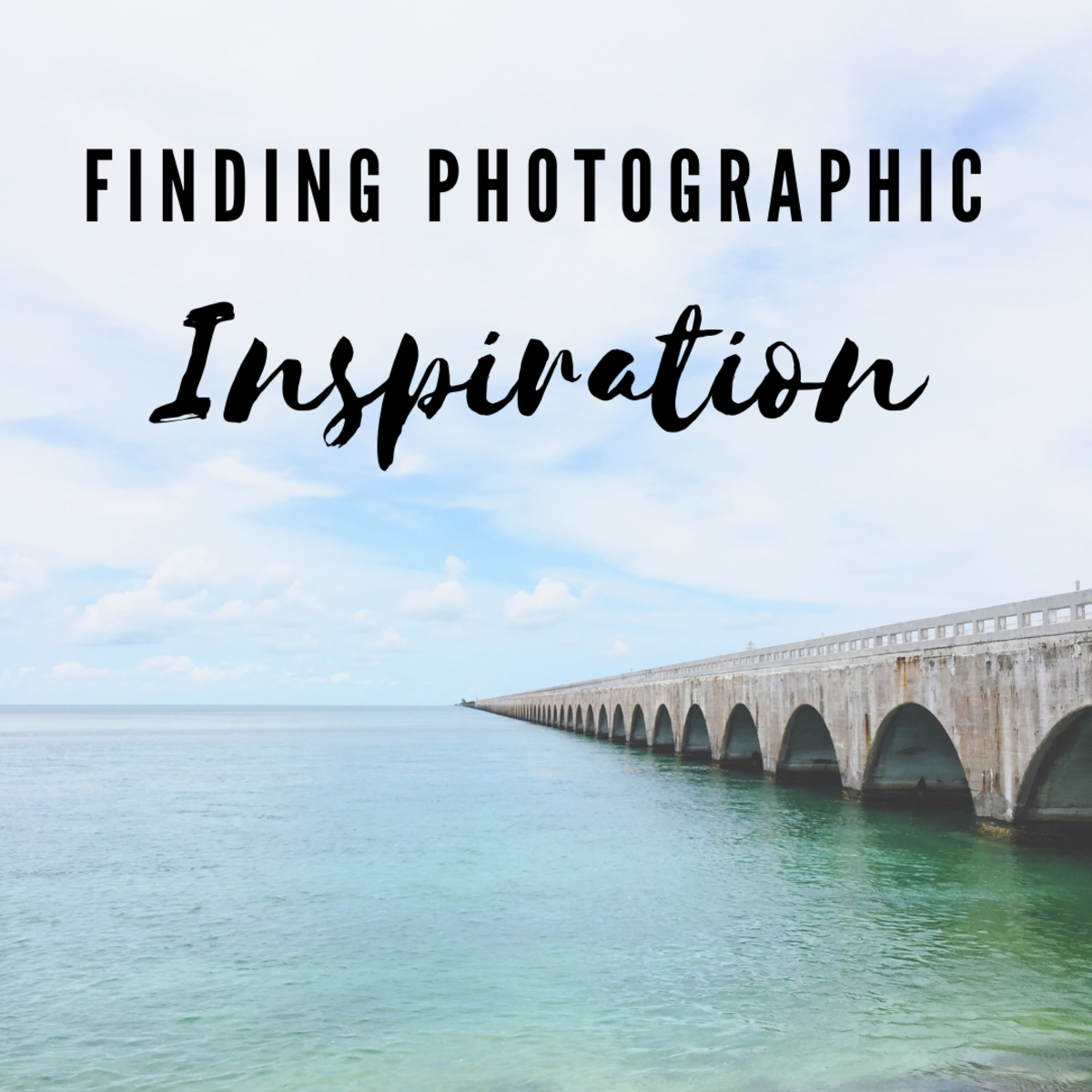 You can look to other photographers' work as inspiration as long as you follow a few important guidelines.