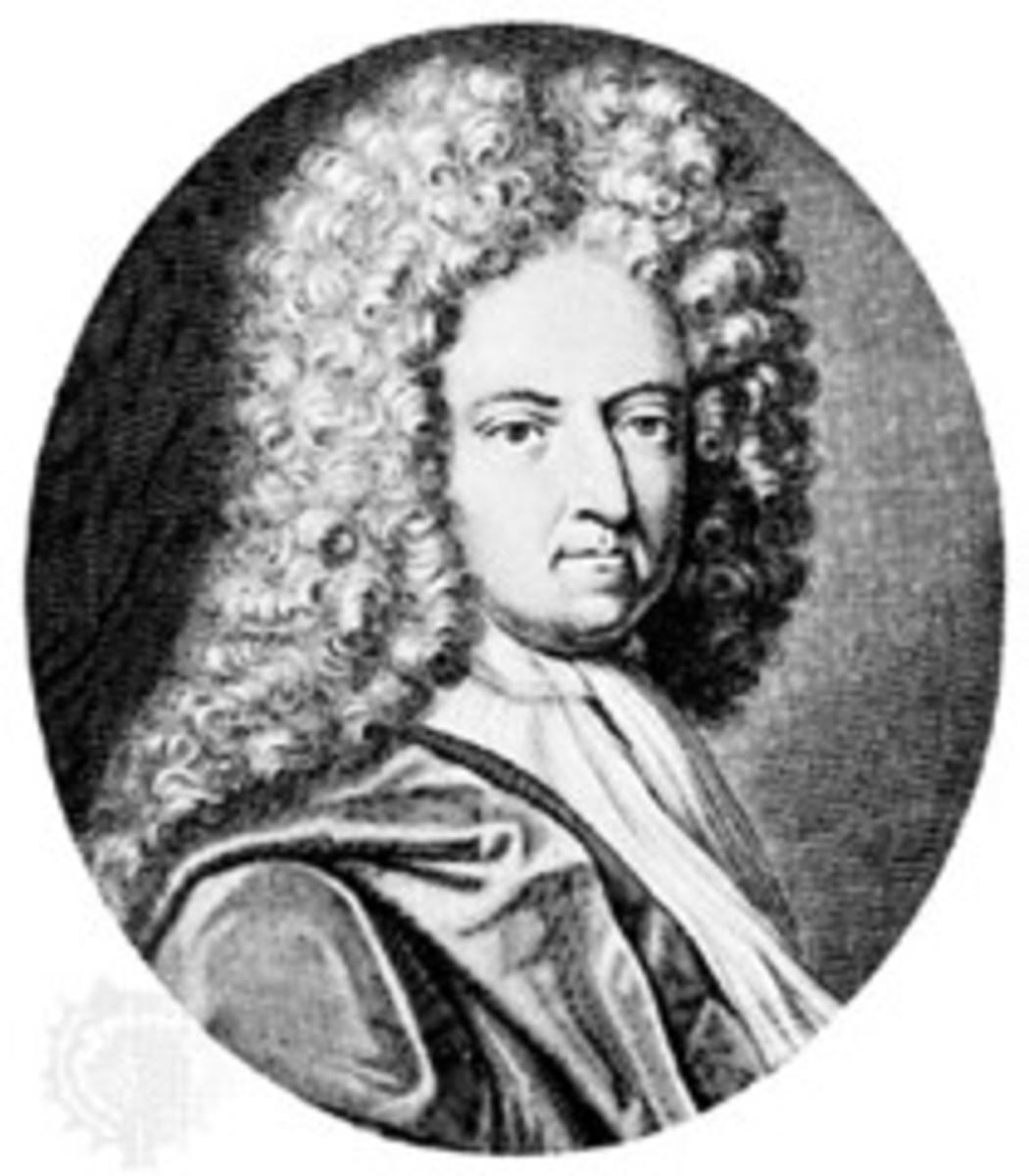 Daniel Defoe Author of Robinson Crusoe
