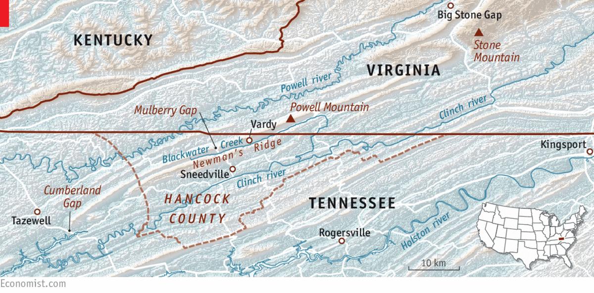 Newmans Ridge Tennessee