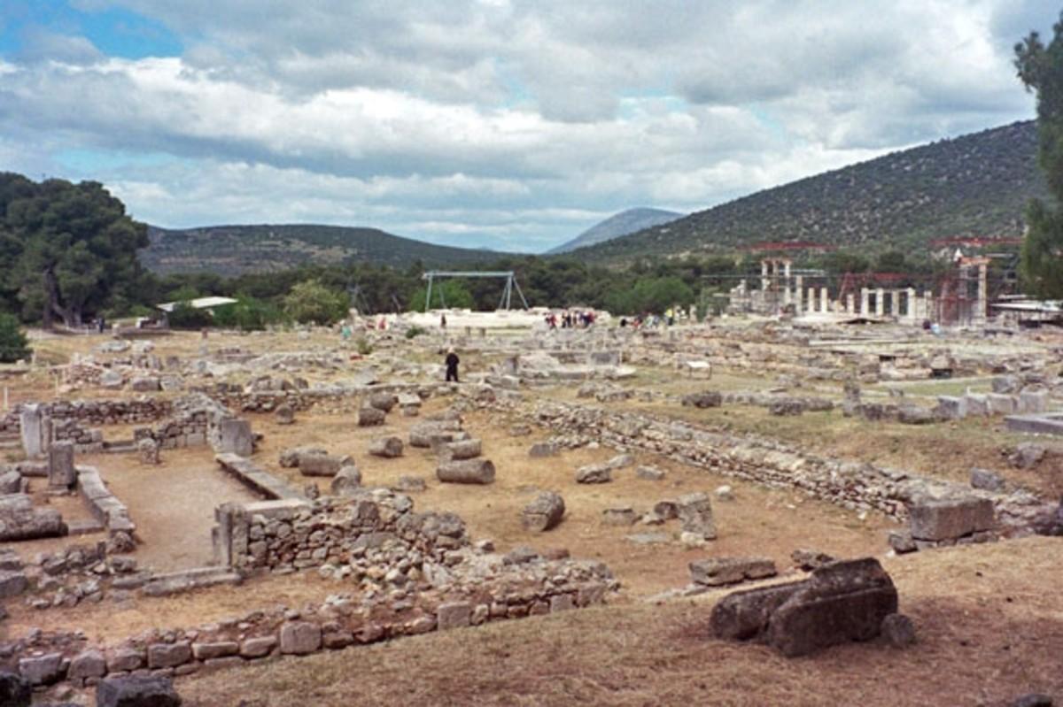 Sanctuary of Epidaurus, temple of Asklepios