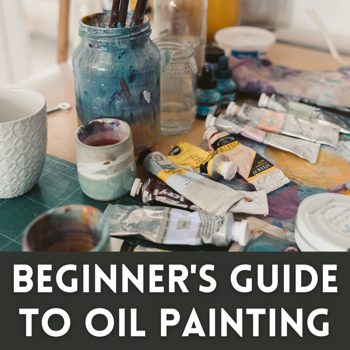 Beginner's Guide to Oil Painting: Canvas Preparation and Sketch Transference
