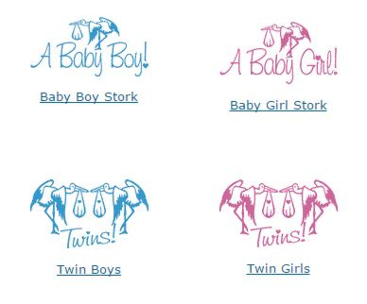 Baby Clip Art & Pregnancy Graphics | hubpages