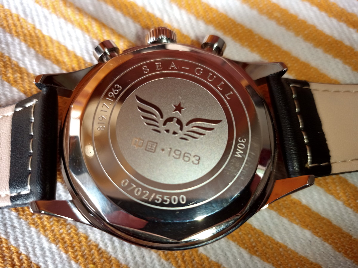 Despite the caseback inscription, this watch is not powered by a Seagull movement