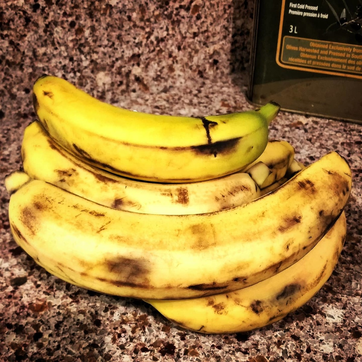 You can't go wrong having extra bananas on hand. Store them in the freezer until you need bananas for a recipe. Sometimes you can even by a bunch of bruised bananas at a discount.