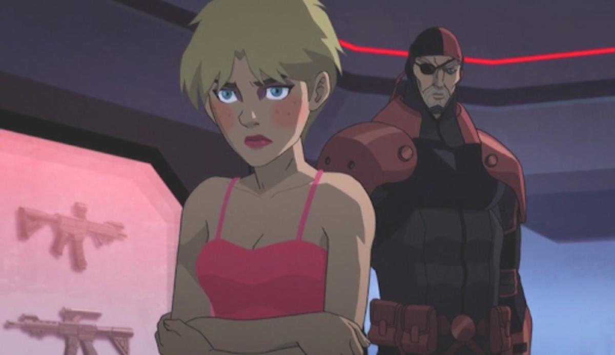 Terra's misplaced love in Slade Wilson.
