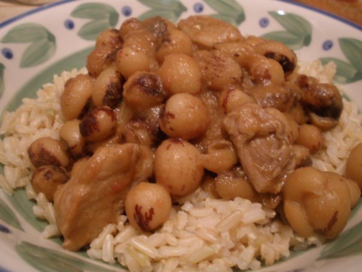 Bambara groundnut Madagascan Meal