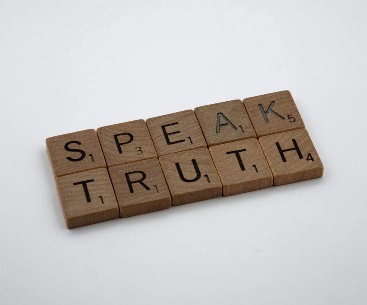 A man of integrity will speak the truth and his actions magnify such values