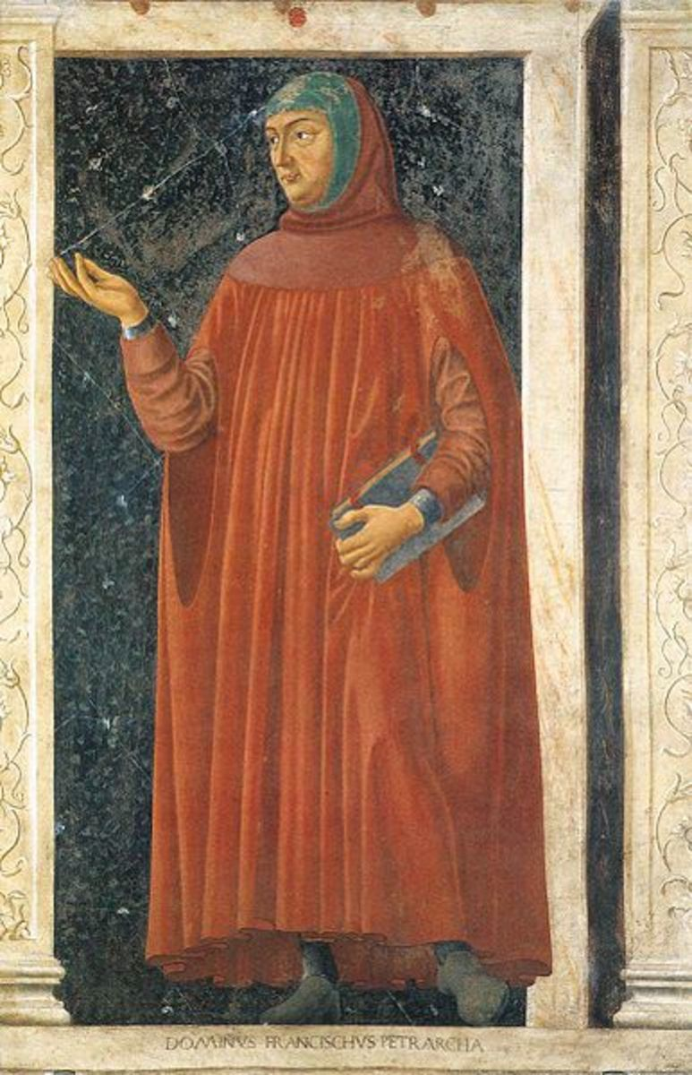 Italian scholar Petrarch (Francesco Petrarca) who coined the term Dark Ages