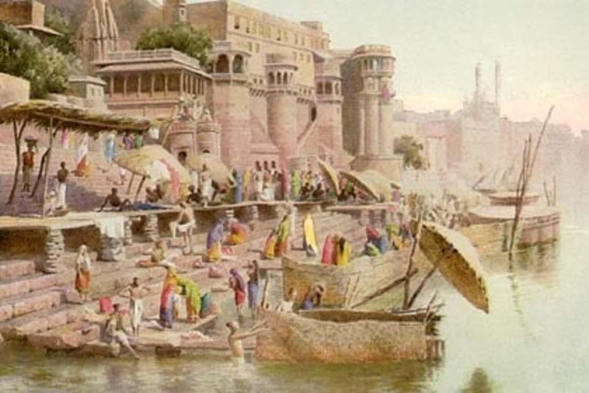 Varanasi in 1890